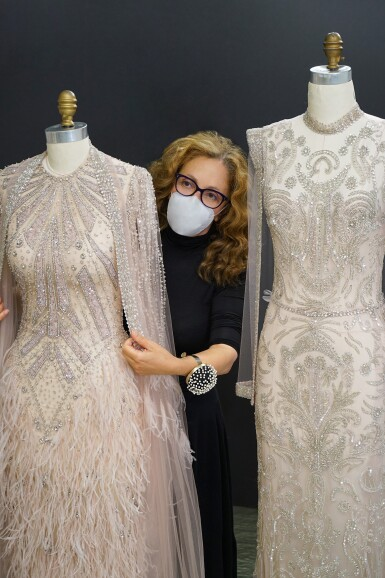 View 3. Thumbnail of Lot 58. A glimpse behind the scenes of the New York Atelier of Reem Acra..
