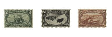 Trans-Mississippi 1898 1c-$2.00 Overprint Specimen Type E (285SE-293SE)