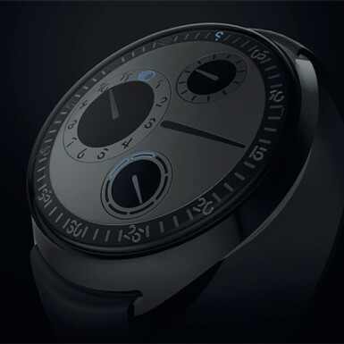 View 4. Thumbnail of Lot 2251. Ressence | Spymaster, A limited edition titanium wristwatch with rotating dial and day of the week indication, with unique NFT digital artwork to celebrate its creation and authenticate it on the blockchain, sold to benefit the Make-A-Wish foundation, Circa 2021 | Spymaster 限量版鈦金屬腕錶,備迴轉錶盤及星期顯示,附帶獨一無二 NFT 非同質化代幣,備數位慶祝畫作及方塊鏈認證,為造福 Make-A-Wish 機構而售,約2021年製.