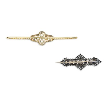 View 2. Thumbnail of Lot 5. DEUX BROCHES | TWO BROOCHES.