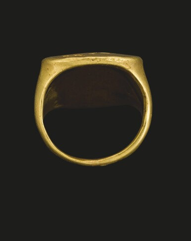 View 2. Thumbnail of Lot 76. A GREEK GOLD RING, 2ND HALF OF THE 5TH CENTURY B.C..