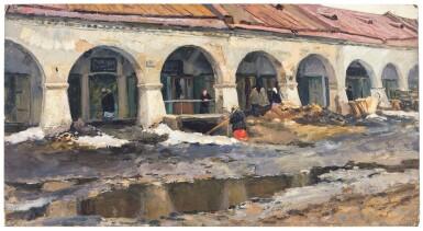 View 1. Thumbnail of Lot 49. VLADIMIR FEDOROVICH STOZHAROV | TRADING ARCADES, KOSTROMA.
