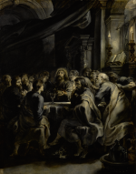 SIR PETER PAUL RUBENS | THE LAST SUPPER, EN GRISAILLE