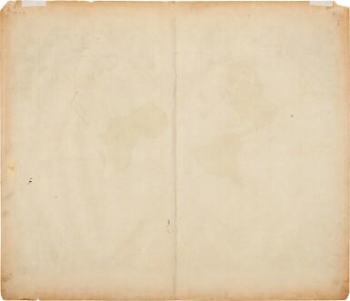 View 2. Thumbnail of Lot 57. WORLD MAP | Elwe, Mappe Monde, 1792.