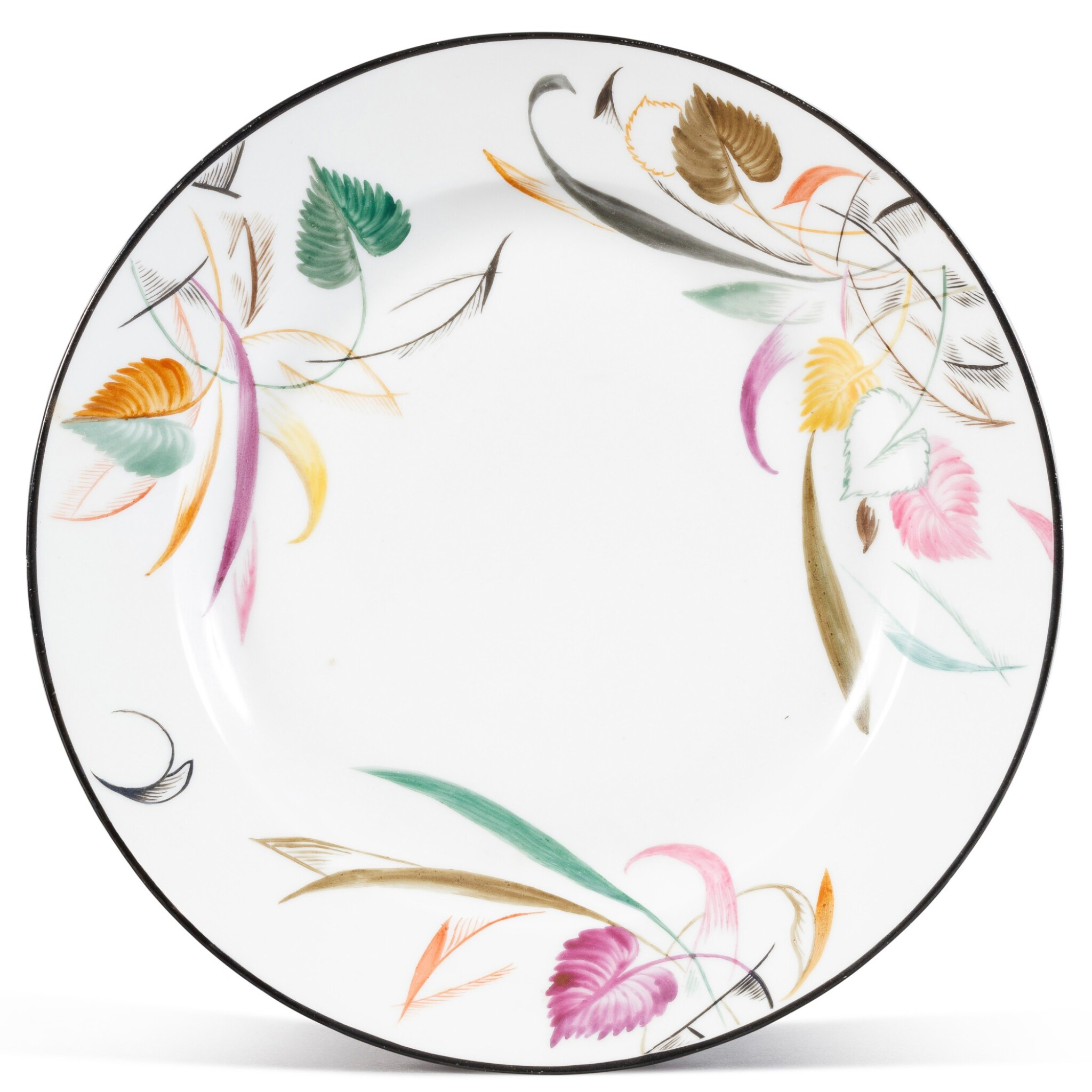 View full screen - View 1 of Lot 152. A Soviet porcelain plate, State Porcelain Factory, Petrograd, 1920.