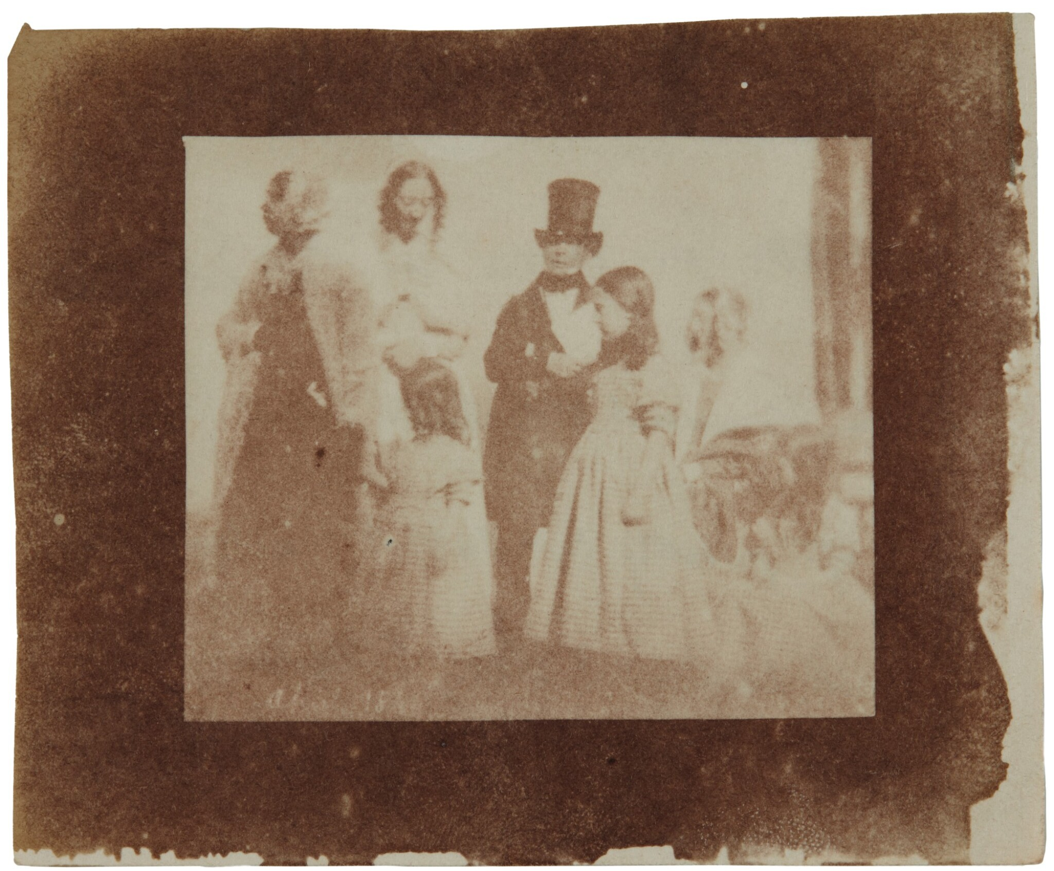 View full screen - View 1 of Lot 11. William Henry Fox Talbot's Gifts to his Sister: Horatia Gaisford's Collection of Photographs and Ephemera.