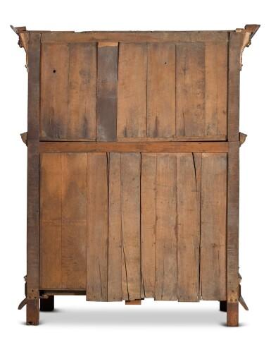 View 4. Thumbnail of Lot 5. A Flemish Renaissance style carved oak cabinet (buffet à cinq portes), probably Antwerp.