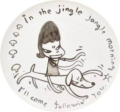 View 1. Thumbnail of Lot 584. Yoshitomo Nara 奈良美智 | In the Jingle Jangle Morning I'll Come Followin' You 讓我在這叮噹響的早晨裡跟隨你.