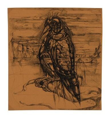 LEON KELLY    BIRD OF WINTER OR WINTER BIRD