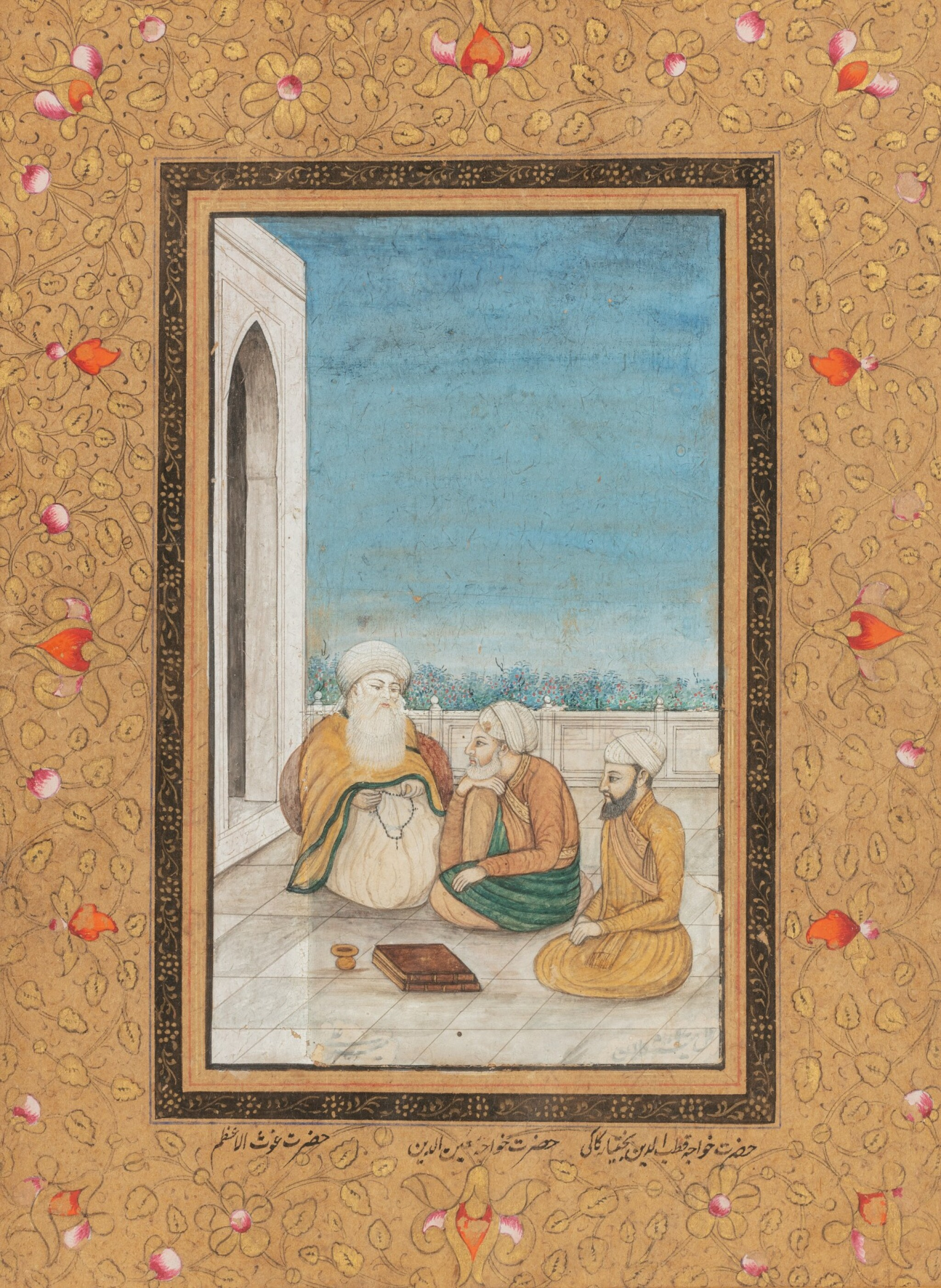 View full screen - View 1 of Lot 65. INDIA, LATE 18TH CENTURY - 19TH CENTURY   THREE MINIATURES.