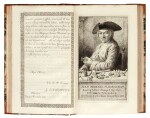 Enschede, Proef van letteren, Haarlem, 1768, contemporary half calf
