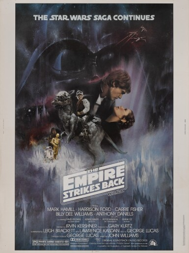 THE EMPIRE STRIKES BACK (1980) POSTER, US