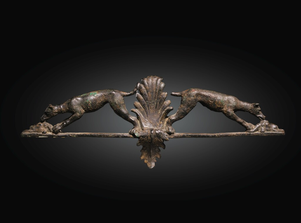 A HELLENISTIC BRONZE APPLIQUE, 2ND/1ST CENTURY B.C.