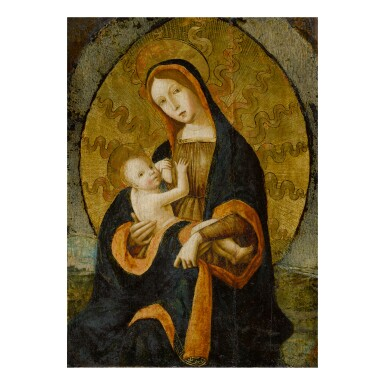 View 1. Thumbnail of Lot 37. NORTH ITALIAN SCHOOL, CIRCA 1500-1520 | MADONNA AND CHILD.