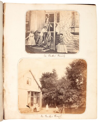 View 1. Thumbnail of Lot 40. BARKER, and others | Album of photographs of New Zealand, Jamaica and England, 1863-82.
