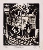Neun Holzschnitte (K. 23-31) (Nine woodcuts (K. 23-31))