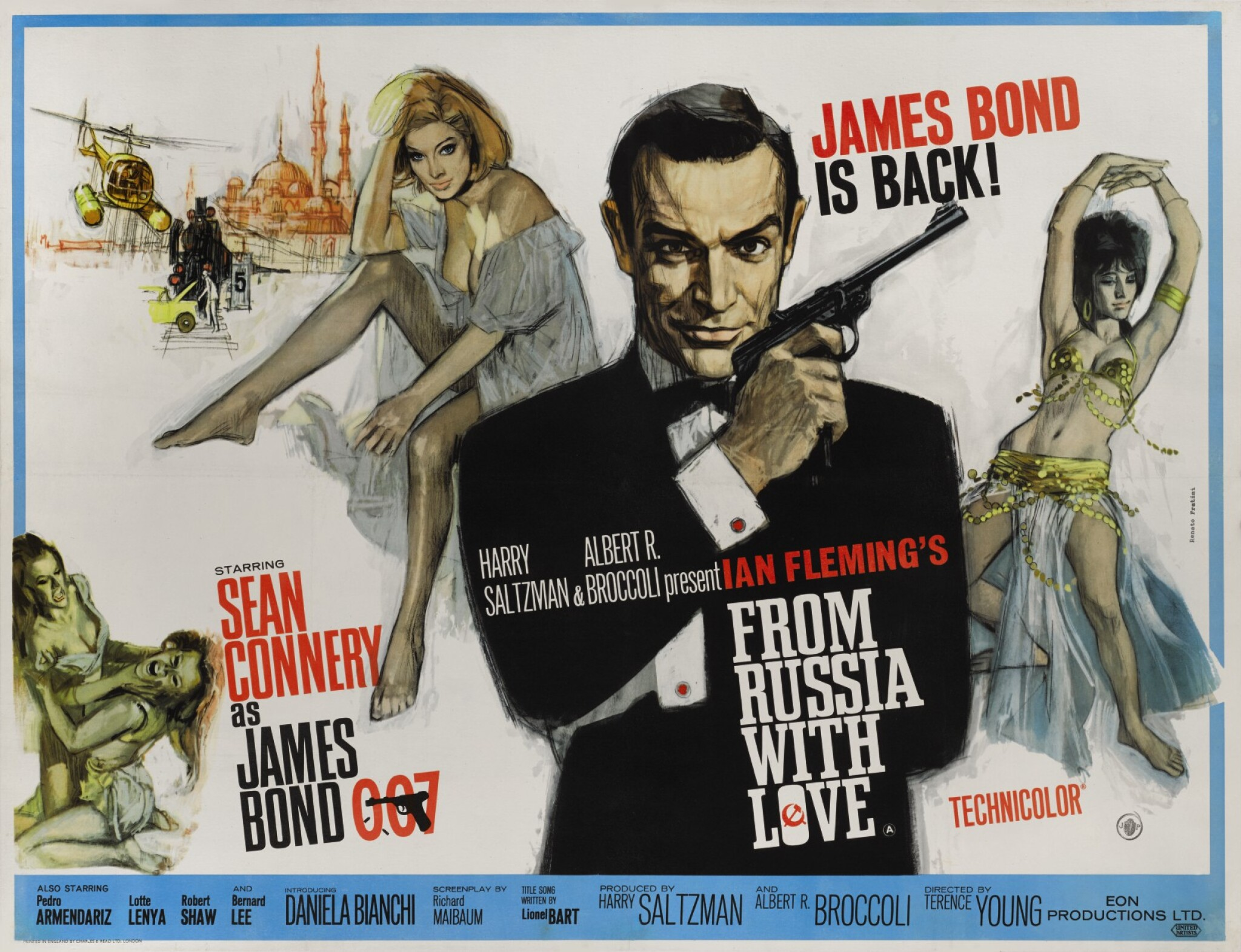 View full screen - View 1 of Lot 19. FROM RUSSIA WITH LOVE (1963) POSTER, BRITISH.