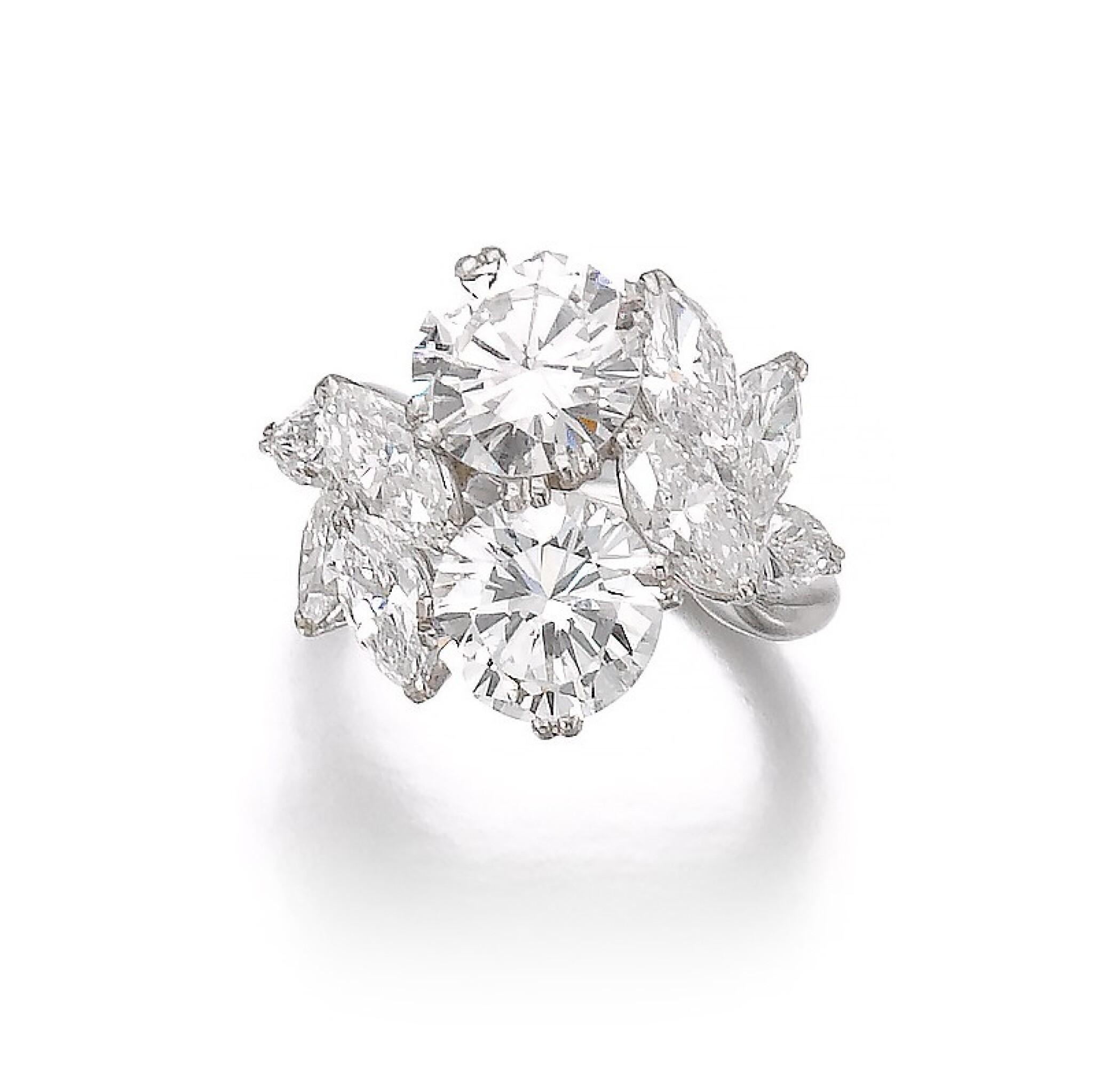 BOUCHERON   DIAMOND RING [ Boucheron 鑽石戒指]
