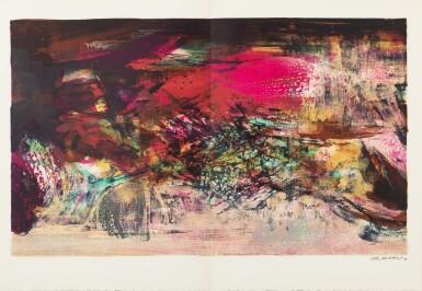 View 7. Thumbnail of Lot 181.  À la gloire de l'image.... Barcelone, 1977. 15 lithographies en couleurs. Edition originale..
