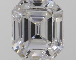 A Pair of 1.05 and 1.03 Carat Emerald-Cut Diamonds, E and D Color, VVS2 and VS2 Clarity