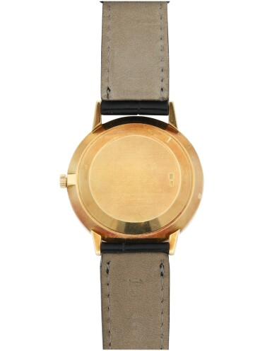 View 6. Thumbnail of Lot 156. PATEK PHILIPPE | REFERENCE 3893  A YELLOW GOLD WRISTWATCH, MADE IN 1981.