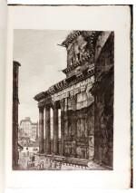 ROSSINI, LUIGI | ANTICHITÀ ROMANE. 1823