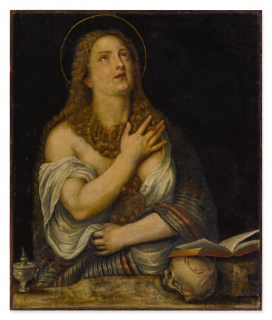 View 2. Thumbnail of Lot 15. Penitent Magdalene.