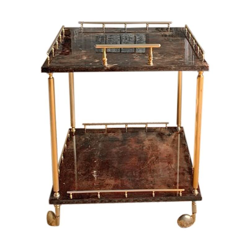 Square Bar Cart