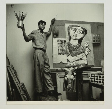 View 10. Thumbnail of Lot 98. JYOTI BHATT | UNTITLED (ELEVEN ICONIC PHOTOS OF ARTISTS).