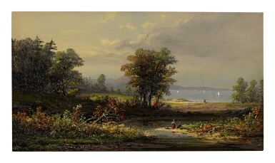 HENRY BOESE | AFTERNOON AT THE SHORE