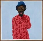AMOAKO BOAFO | MUSTAFA RED BIRD SHIRT (FARUK)