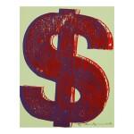 ANDY WARHOL | $ (1) (SEE F. & S. II.274-279)