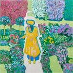 Im gelben Kleid, 2018