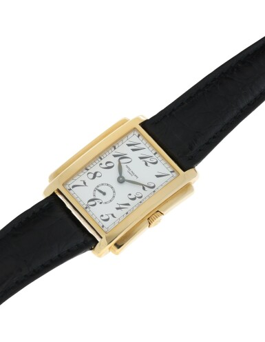View 4. Thumbnail of Lot 159. PATEK PHILIPPE | REFERENCE 5024 GONDOLO A YELLOW GOLD RECTANGULAR WRISTWATCH, MADE IN 1994.