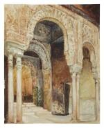 The Alhambra, Granada (after Henri Regnault)