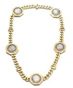 Bulgari | Gold sautoir, 'Monete', 1970s | 寶格麗 | 黃金「Monete」長項鏈