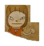 Yoshitomo Nara 奈良美智 | With the Skull Brooch 帶著骷髏胸針