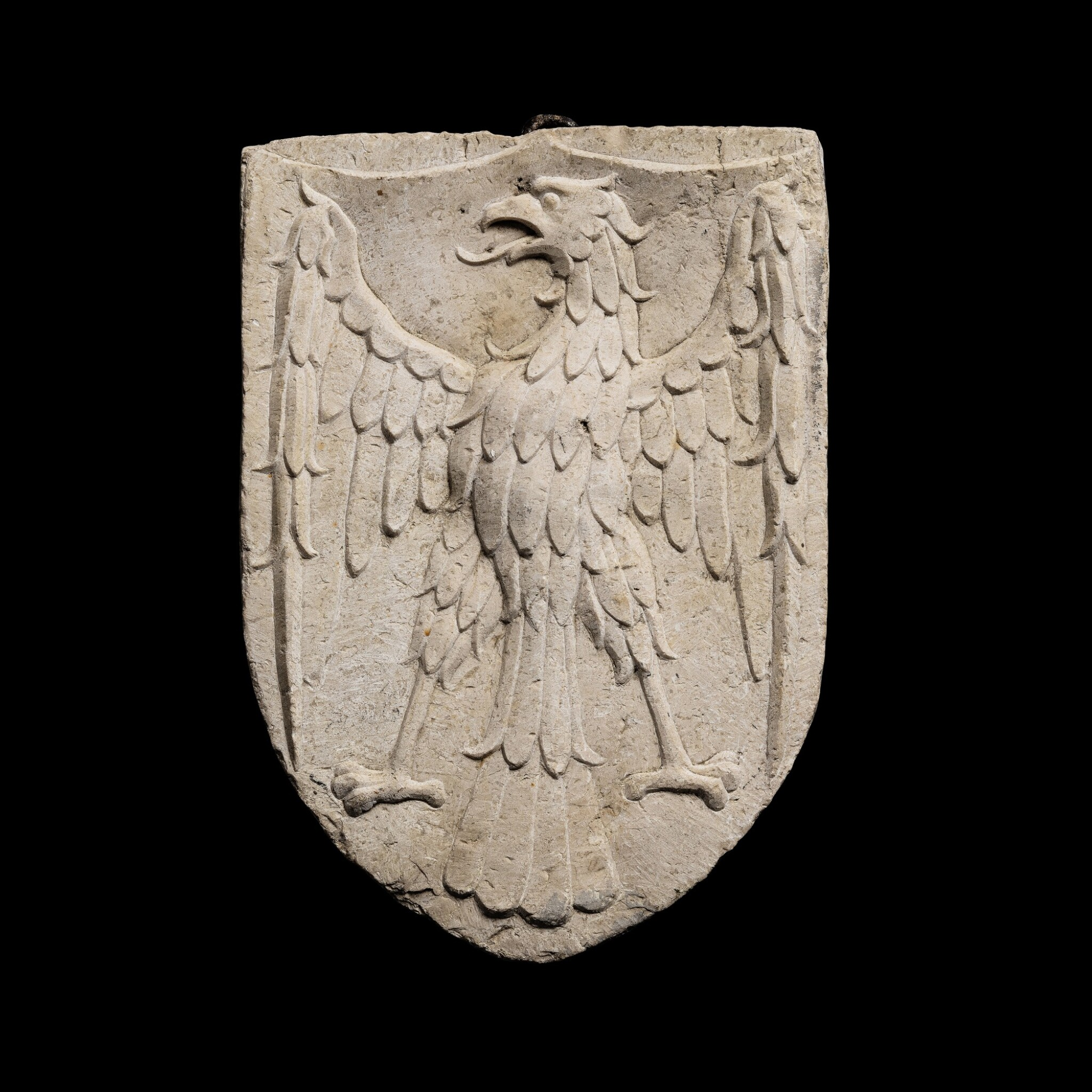 View 1 of Lot 143. Italian, Venice, in 15th century style | Escutcheon with an Eagle.
