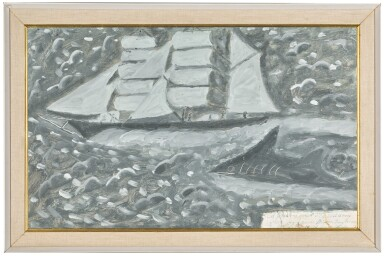 View 2. Thumbnail of Lot 5. JAMES DIXON | A SAILING SHIP.