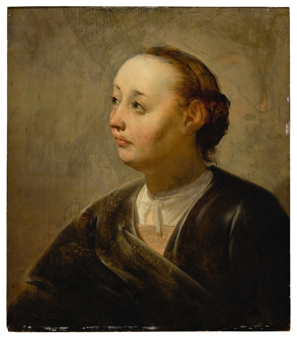 PIETER DE GREBBER   PORTRAIT OF A WOMAN, BUST LENGTH
