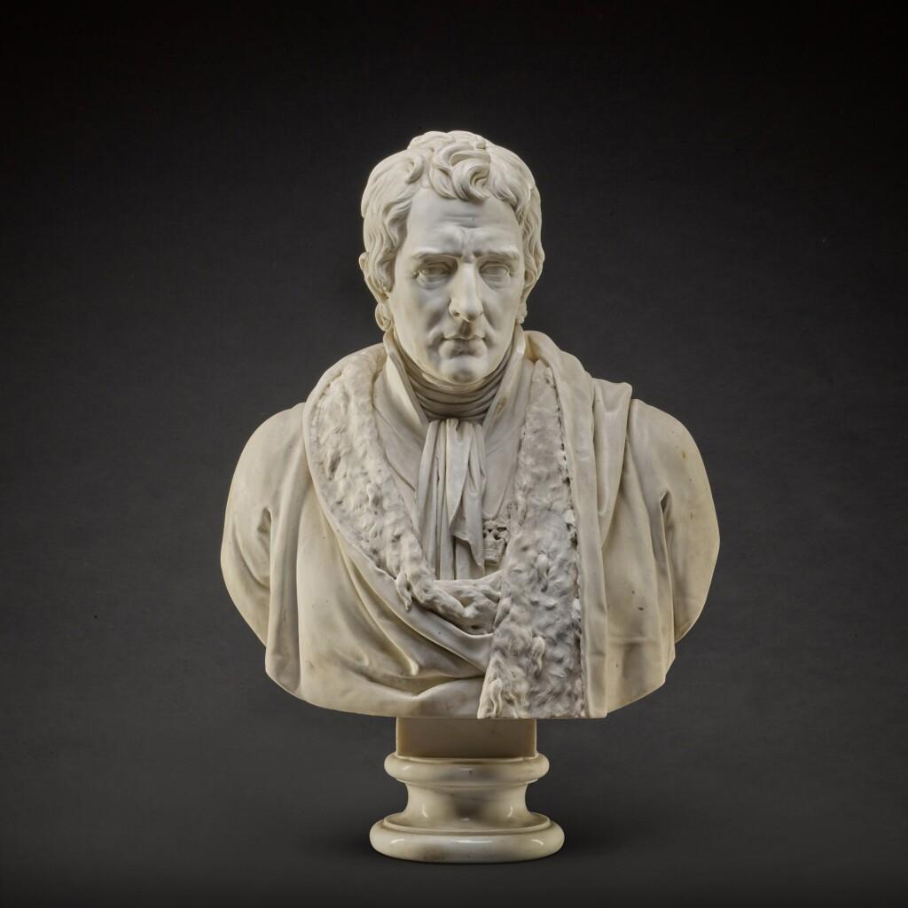 GAETANO MONTI (1776-1847) | BUST OF BARON ANTONIO NEGRI