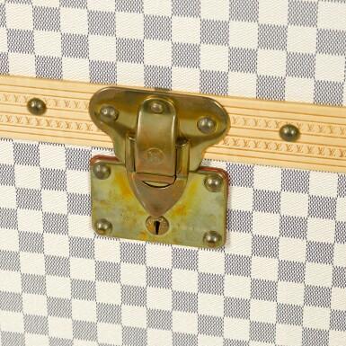 View 5. Thumbnail of Lot 61. 'Malle Lit' Damier Azur Bed Trunk, 2007.