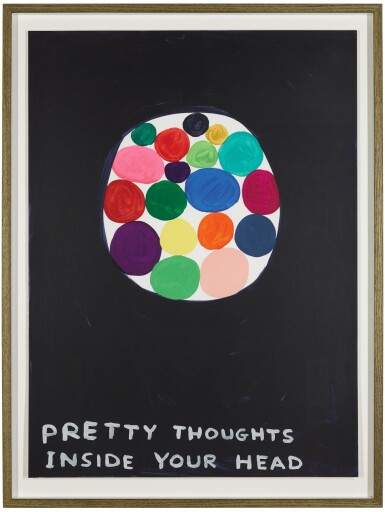 View 2. Thumbnail of Lot 10. DAVID SHRIGLEY | PRETTY THOUGHTS INSIDE YOUR HEAD.