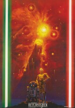 RETURN OF THE JEDI, SPECIAL POSTER PRODUCED UNDER LICENCE TO YAMAKATSU,  NORIYOSHI OHRAI, JAPANESE, 1983