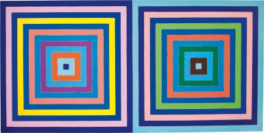 View 1. Thumbnail of Lot 20. Frank Stella 弗蘭克・斯特拉  | Untitled (Double Concentric Square) 無題(雙同心正方形).