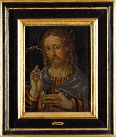 View 2. Thumbnail of Lot 5.  ITALIAN SCHOOL, 16TH CENTURY | CHRIST DISPLAYING HIS WOUNDS.
