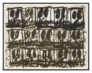 View 2. Thumbnail of Lot 115. Untitled (Anxious Drawing).