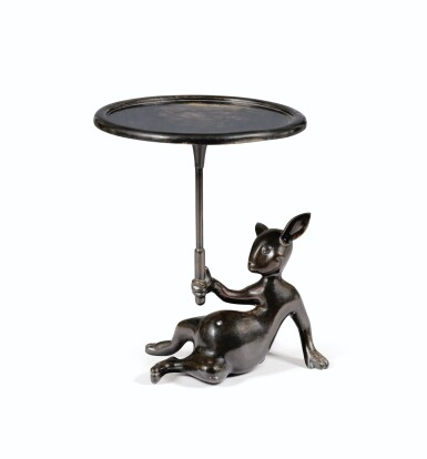 View 1. Thumbnail of Lot 46. Olympia side table, 2016.