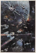 STAR WARS, SOUNDTRACK POSTER, JOHN BERKEY, 1977