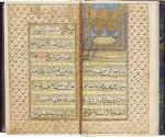 AN ILLUMINATED COLLECTION OF PRAYERS, INCLUDING DALA'IL AL-KHAYRAT, NORTH INDIA, 19TH CENTURY